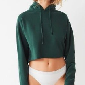 Urban Outfitters Out From Under Crop Hoodie Size L